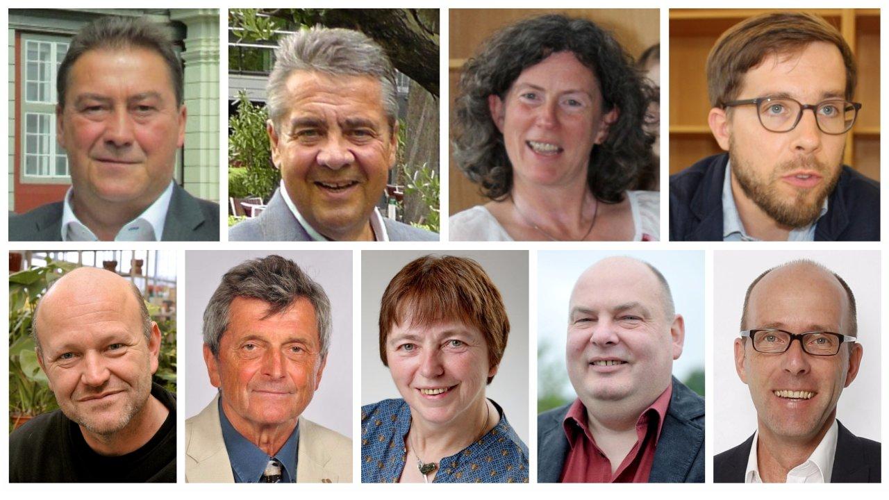 Diese neun Direktkandidaten kämpfen im Wahlkreis 49 Salzgitter-Wolfenbüttel um den Einzug in den Bundestag.