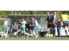 Tim Johow (am Ball) steuerte sechs Treffer zum Auswärtserfolg des MTVVorsfelde beim Dessau-Roßlauer HV bei. Mit diesem Sieg fehlen dem MTV nur noch...